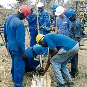 Local miners lured to Malawi