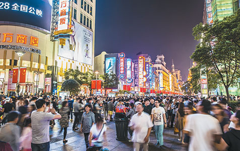 China shifts investment focus