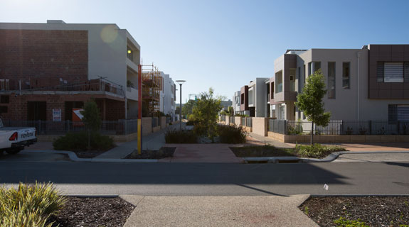 Medium density housing stays strong business news