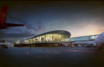 Broad to build new international terminal