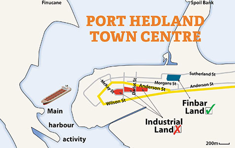 Dust flies over Hedland projects
