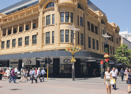 Refurbished Walsh's building fully leased