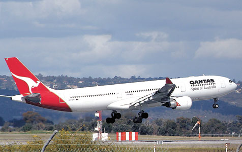 Skies not so friendly for Qantas