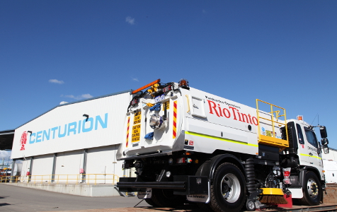 Rio awards 10-year freight contract to Centurion