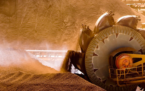 Iron ore tipped to fall to $US52/t in 2016