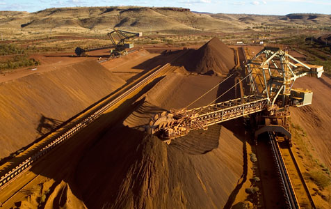 China strategy may hit iron ore