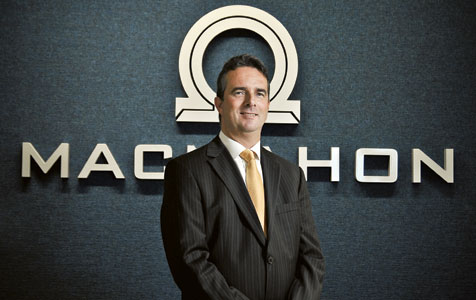 Macmahon CEO out the door