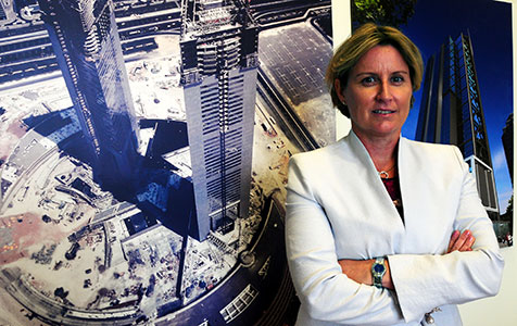 Warburton named business woman of the year