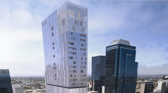 Sheraton eyes Perth for 42-level hotel