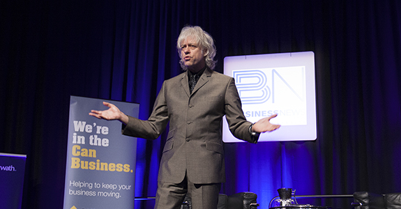 New century must be won over without a fight: Geldof