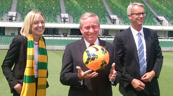 Socceroos coming to Perth later this year