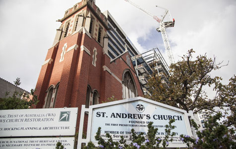Offices to apartments switch at St Andrews