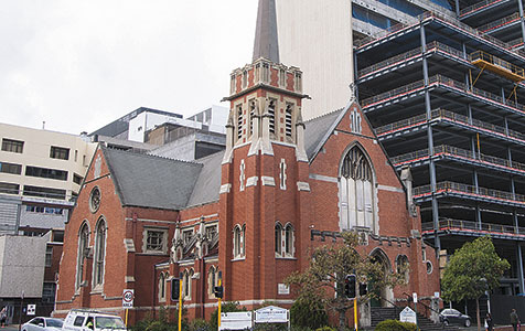 Tower proposal tripped up by ageing church
