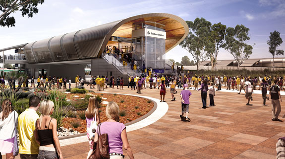 Contractors win $100m Stadium Station job