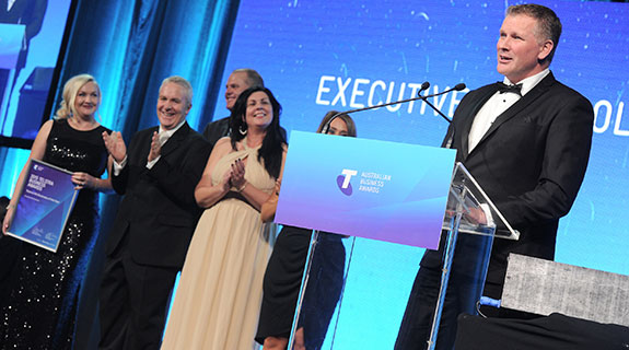 ERS named Telstra WA business of the year