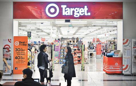 Target MD resigns
