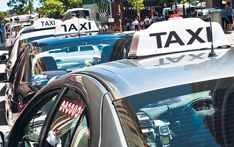 Taxing times for taxis with Uber's arrival