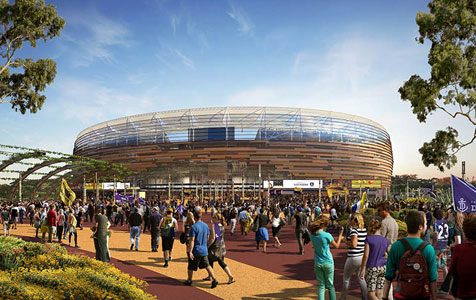 Heavy wager on Burswood build