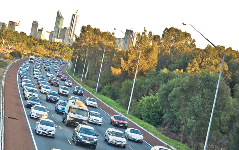 Congestion kills Perth's easygoing appeal