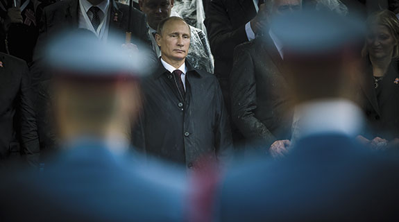 Pre-emptive Putin takes aim at caliphate
