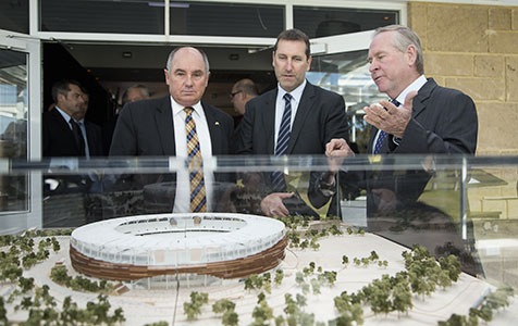 Perth's $900m stadium revealed