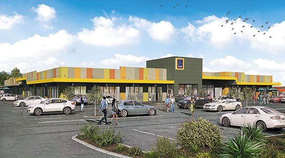 Devwest signs Aldi for new centre