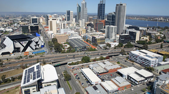 High-rise plot in West Perth hits market
