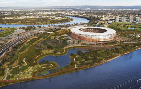 Event planning urged to begin as stadium build starts