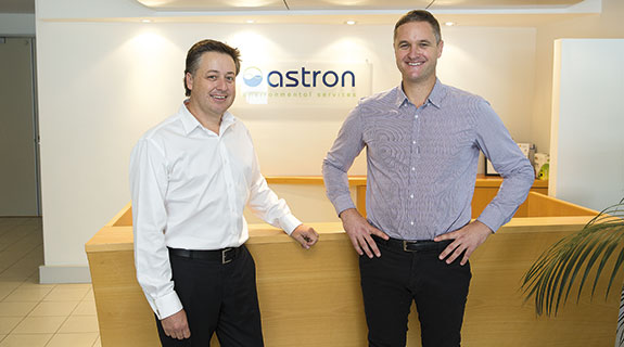 Astron adapts to tough environment