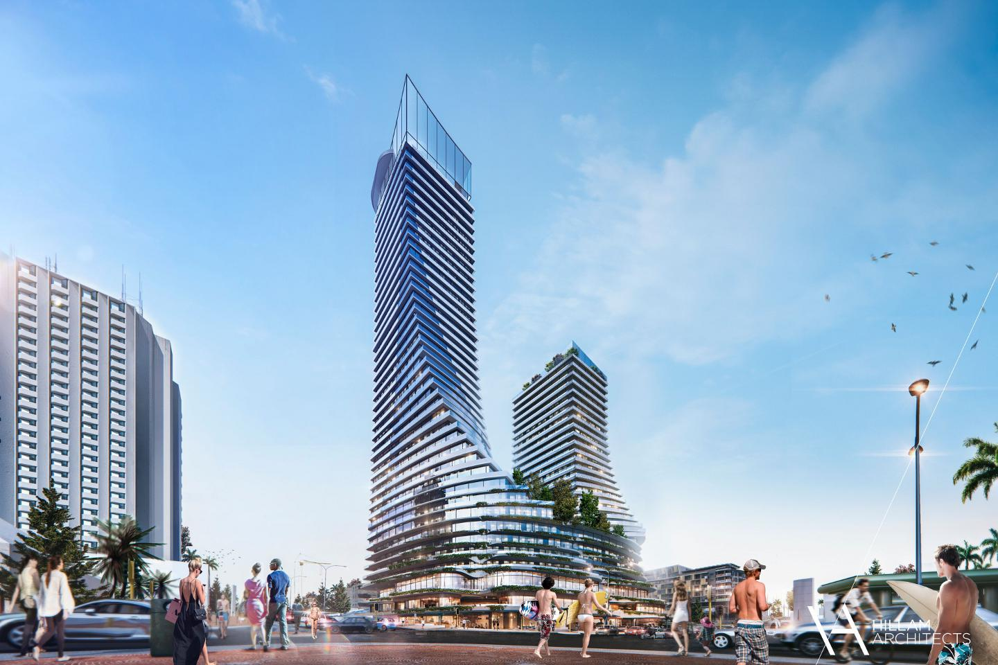 MRA knocks back $450m Scarborough twin towers