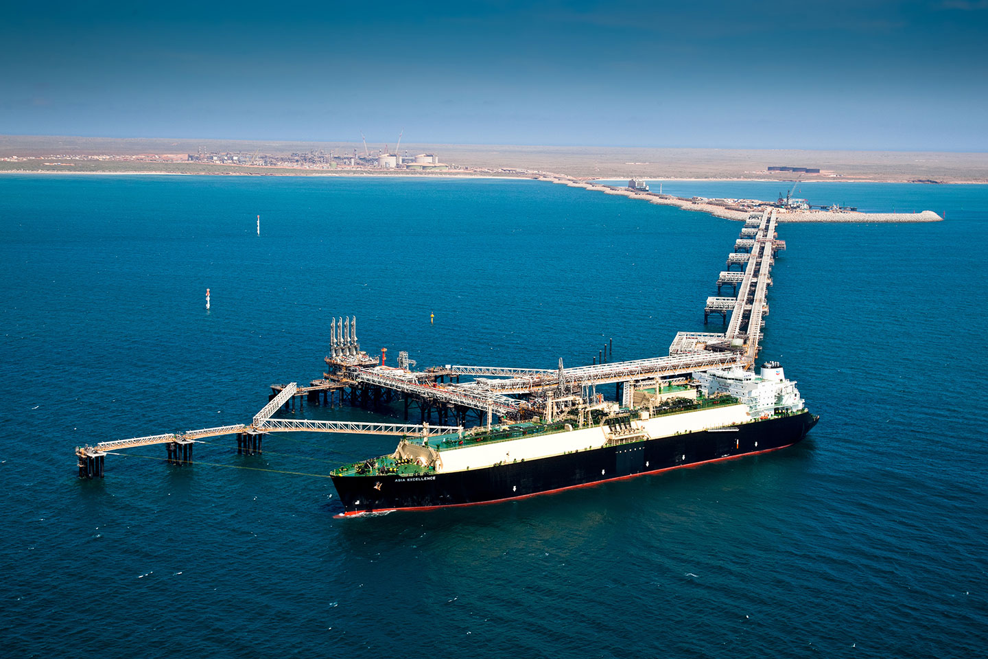 Chevron's Gorgon facility on Barrow Island