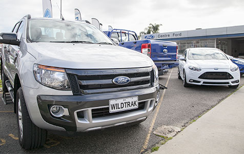 Centre Ford in voluntary liquidation