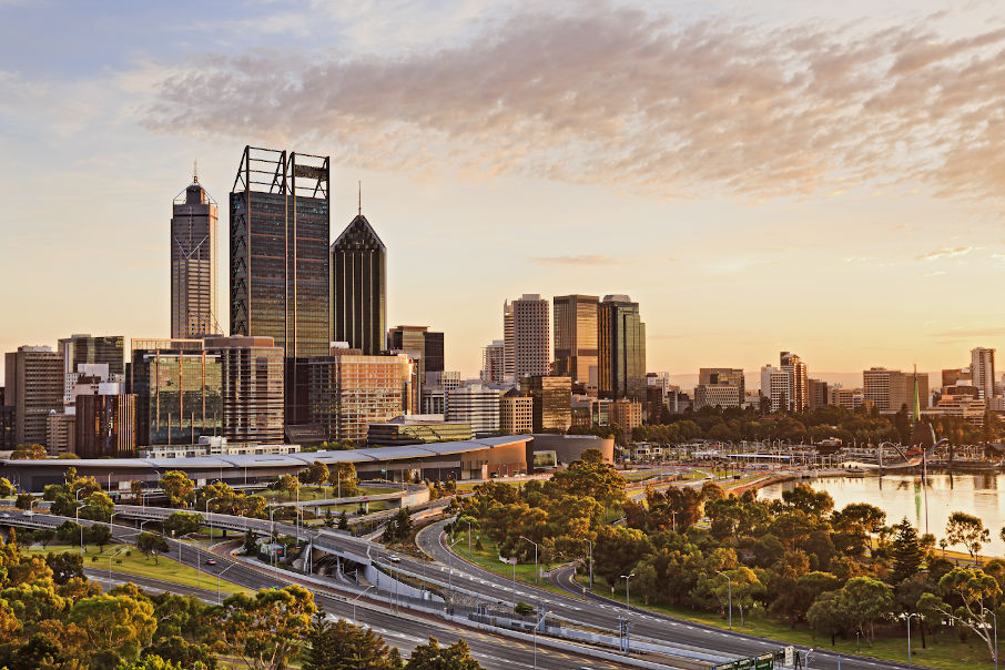 Perth CBD rents to $900/sqm