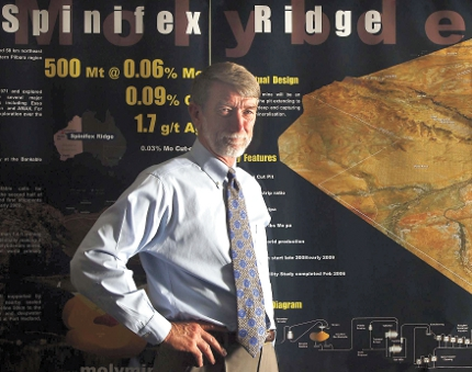 Moly secures $US500m for Spinifex Ridge