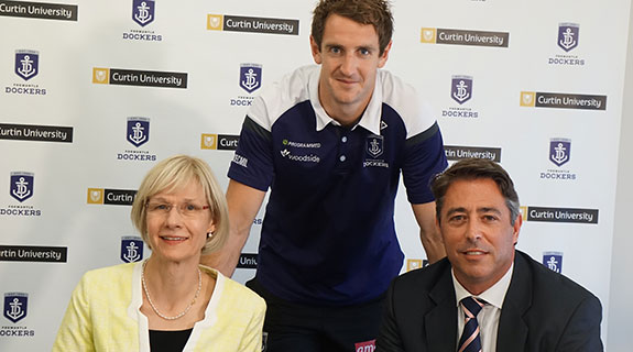Fremantle Dockers align with Curtin University