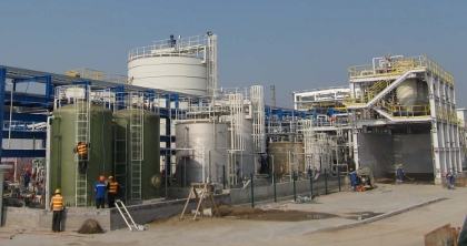 Galaxy completes Chinese lithium carbonate plant