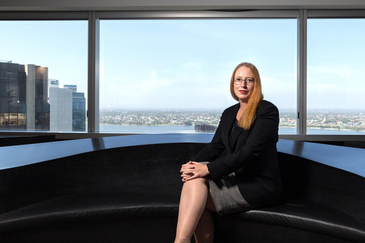 Leanne Nickels, Perth manager partner of DLA Piper.