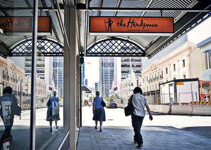 Slow sales force closure of The Herdsman in CBD