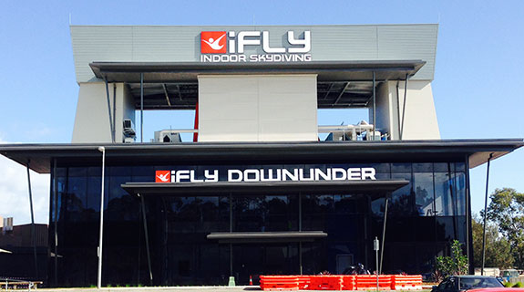 Work starts on indoor skydiving facility