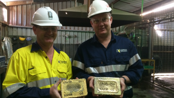 Gold production continues to grow