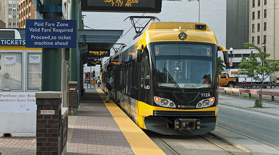Knowledge economy rides light rail