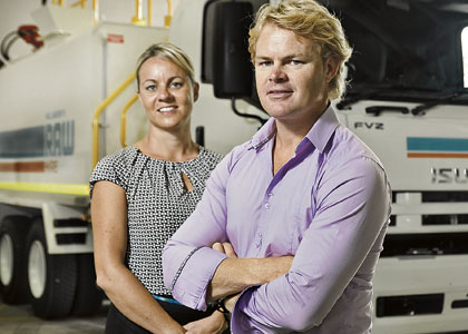 Couple's vehicle hire firm taps big projects