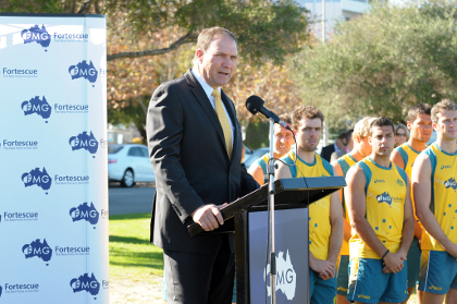 FMG in two-year deal to sponsor Kookaburras