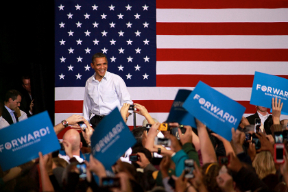 Obama re-elected for second term