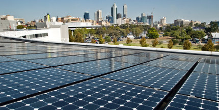 First Perth solar city project launched