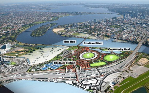 Perth Stadium proposals received