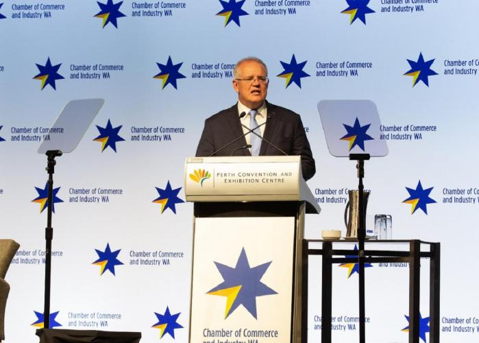 Morrison vows to pass tax cuts, fight regulation