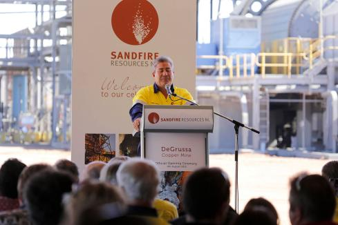Sandfire boss sells down for $6m