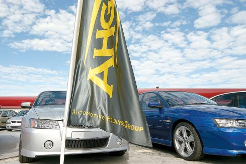 Profit down for auto dealer AHG