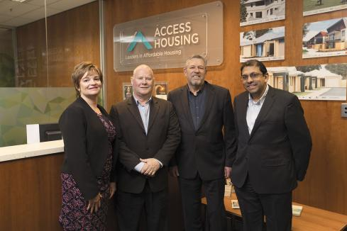 Access Housing  offers affordable opportunities